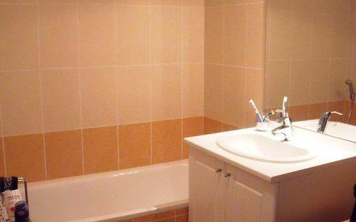 Appartement   48m2 : salle de bains