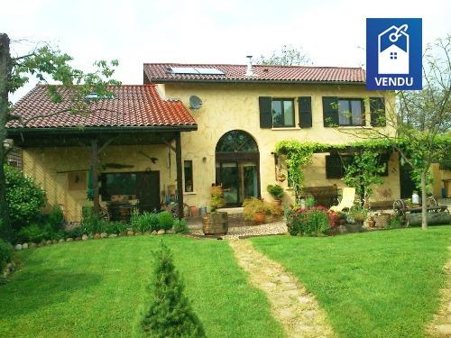 Maison ancienne vente maison villa izeaux agence for Lacroix jardins 78