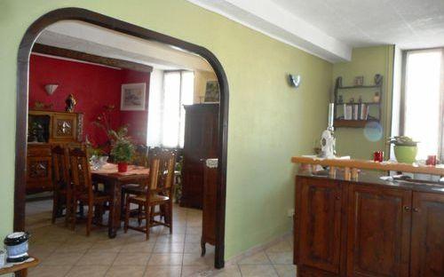 maison ancienne : espace salon