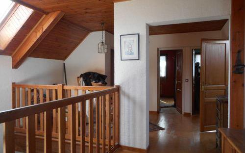 Villa : espace mezzanine