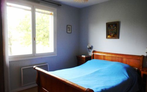 villa de plain pied : chambre
