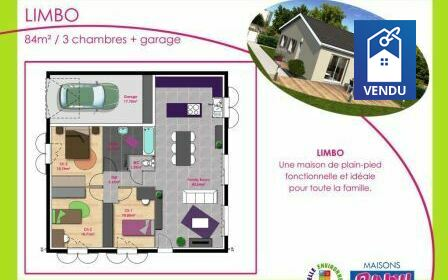 Immobilier sur Le Grand-Lemps : Maison/villa de 5 pieces