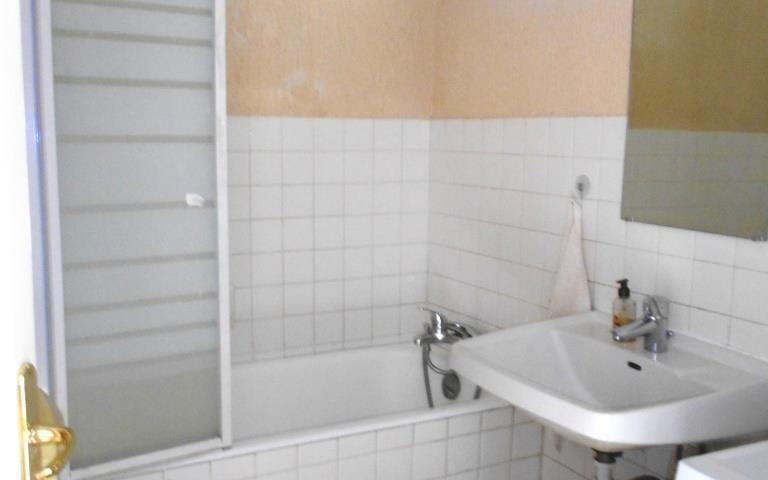 Appartement : Salle d'eau