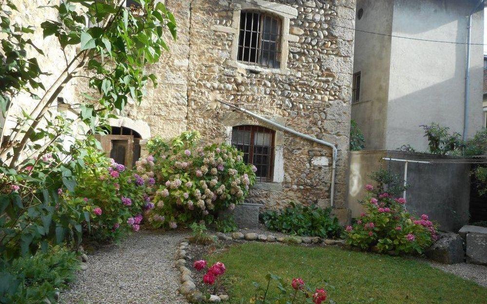 Aile du chateau : Jardin coquet