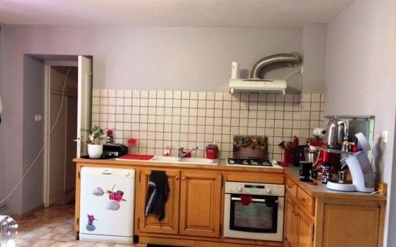Appartement 109 m2 : cuisine equipée spacieuse