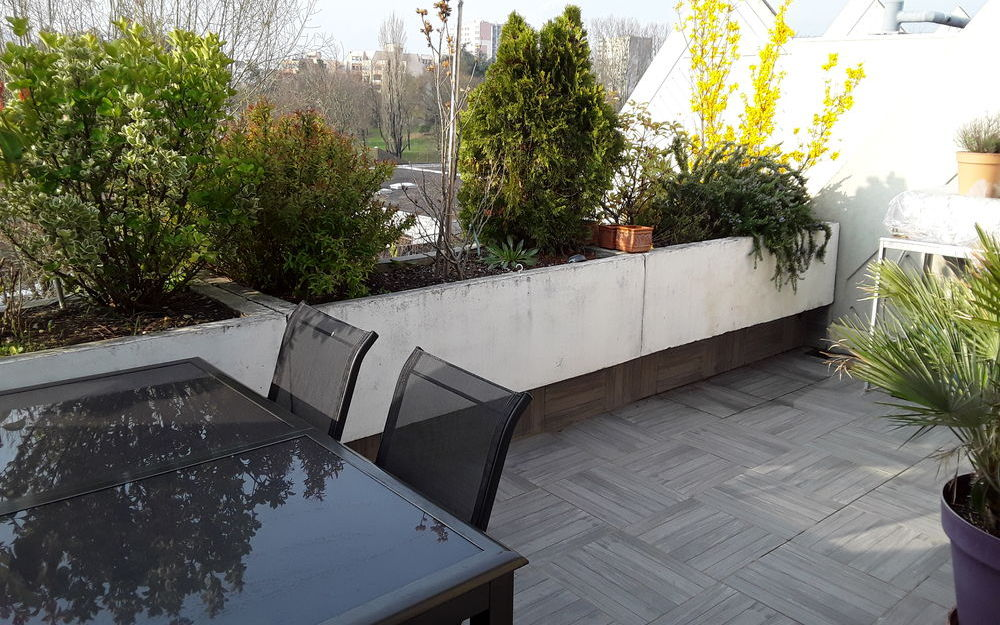 appartement de type 4 : terrasse