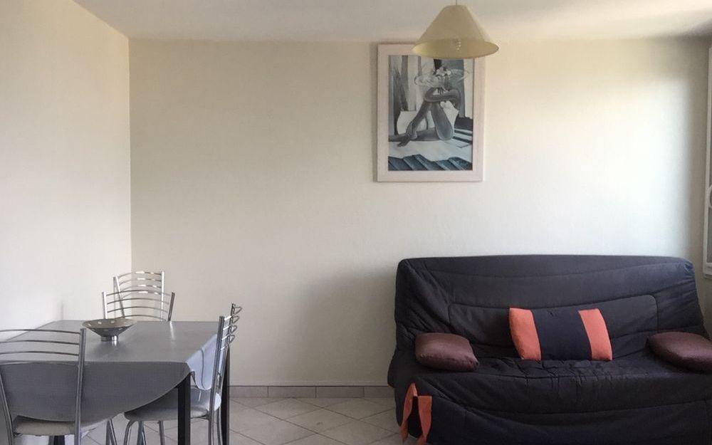 Appartement   type 2 : Pièce principale