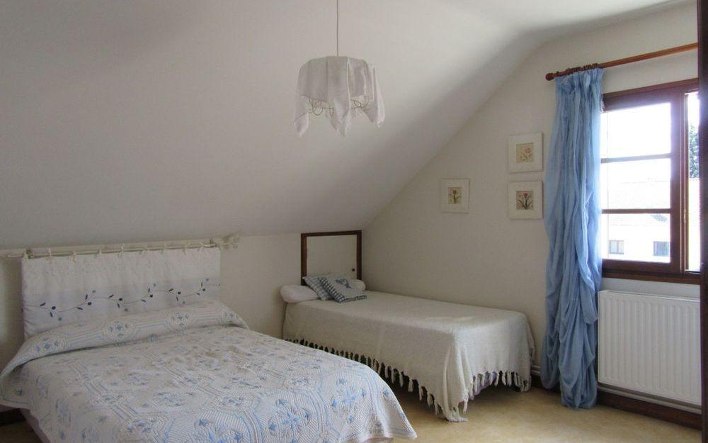villa : une chambre