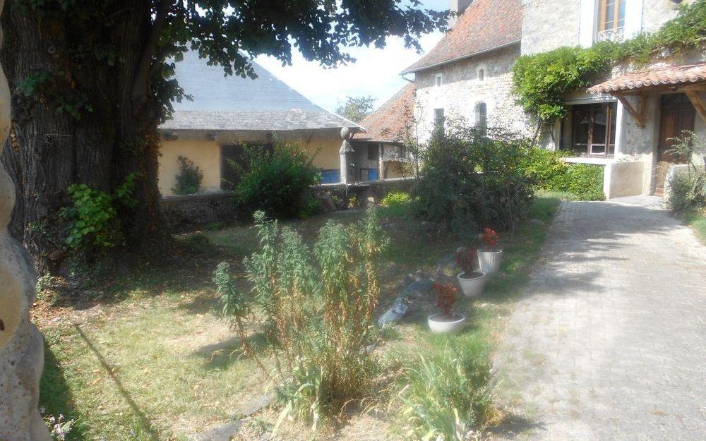 maison dauphinoise : L'entrée