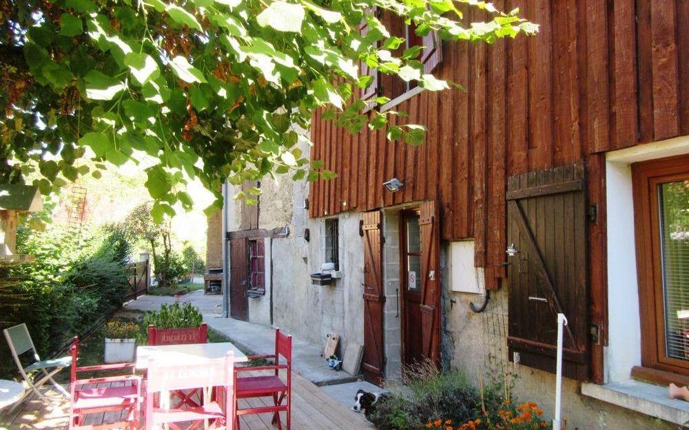 Maison Ancienne : espace terrasse