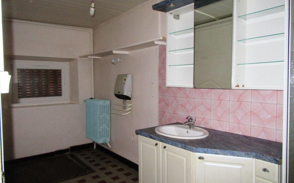 Maison ancienne avec dependance : salle d'eau