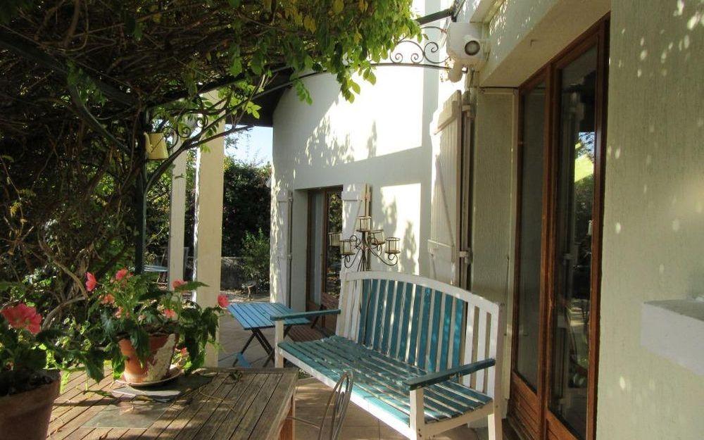 VILLA D'ARCHITECTE : terrasse