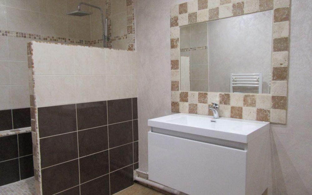 Appartement T3 : salle d'eau