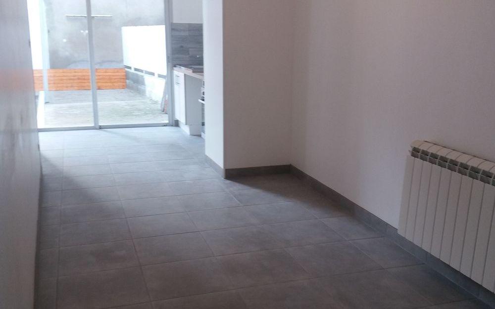 appartement de type 4 : SALLE A MANGER OUVERTE SUR CUISINE