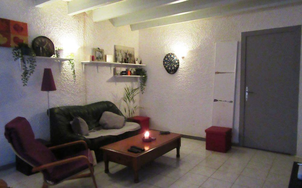 appartement de type 4 : coin salon