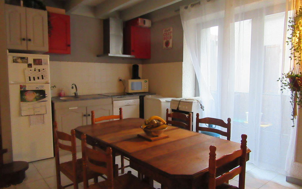 appartement de type 4 : espace cuisine