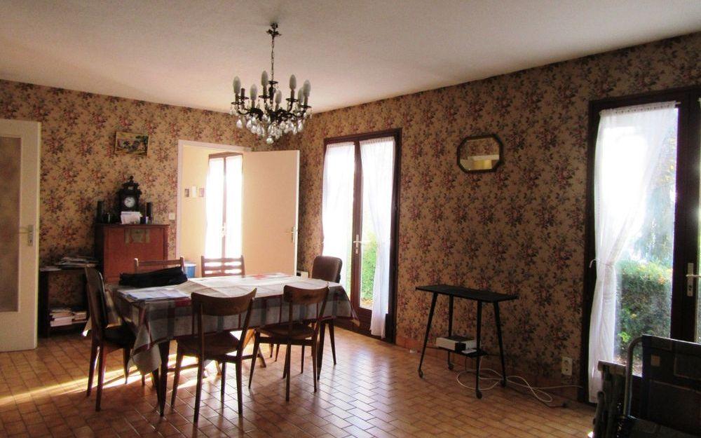 villa de plain pied : séjour salon
