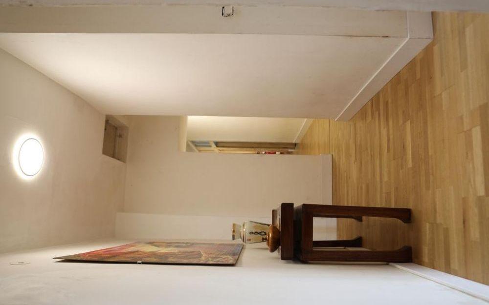 Maison ancienne : couloir etage