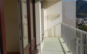 Appartement Le Clos Bérard : Balcon