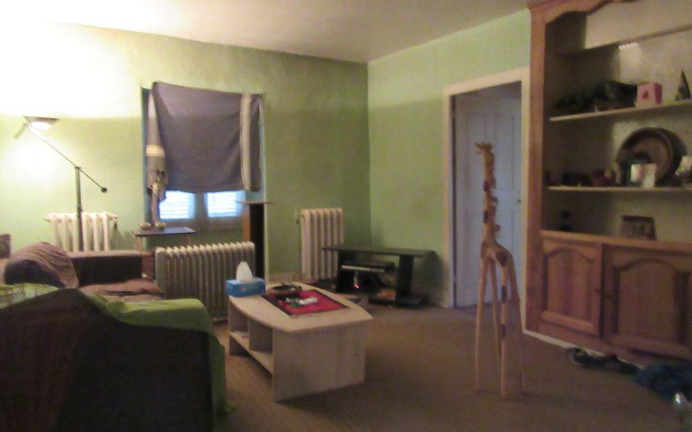 maison a renover : sejour salon