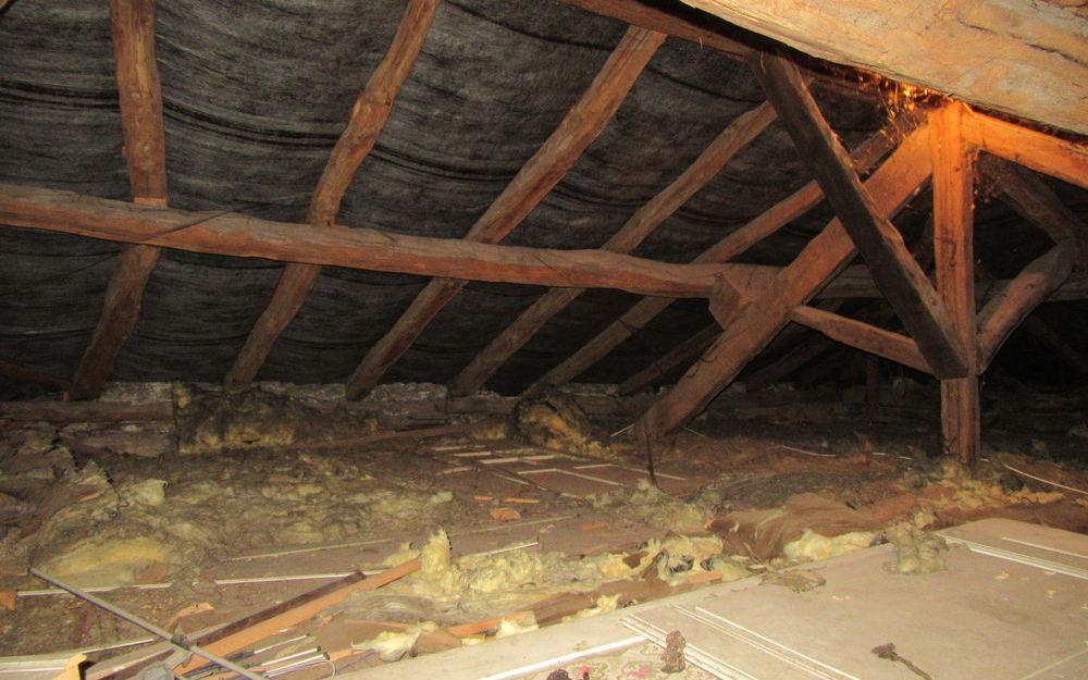maison a renover : toit